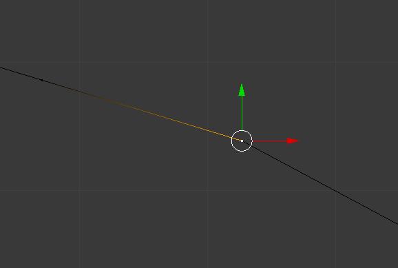 Zwei Vertices liegen exakt aufeinander, das führt zu Problemen mit dem Mesh