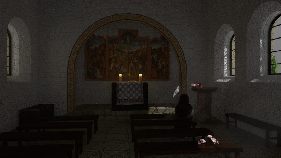 Renovierte Kapelle :D
