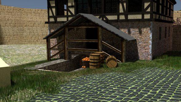 Burghof blendern