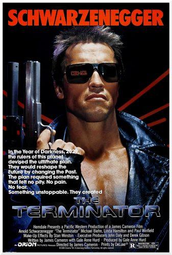 Filmplakat Terminator 1