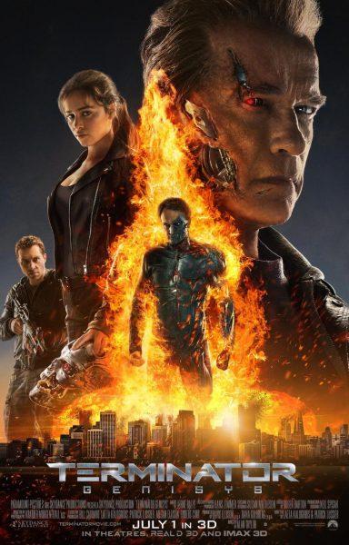 Filmplakat Terminator 5 - Genisys
