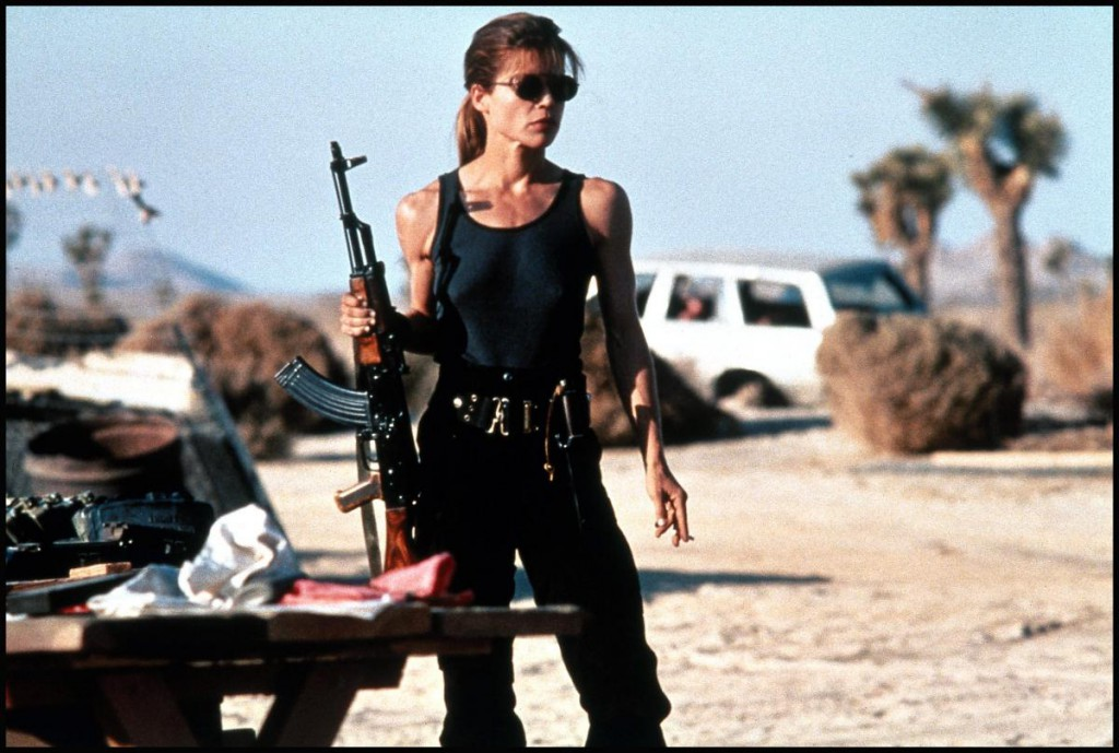 Sarah Connor in T2 <3