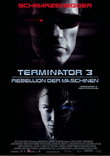 Filmplakat Terminator 3