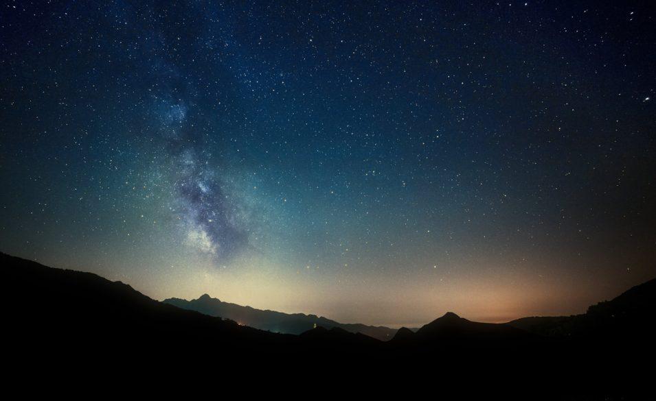 Milchstraße am Himmel