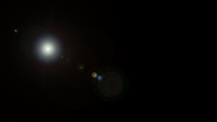 Helles Licht im Dunkeln