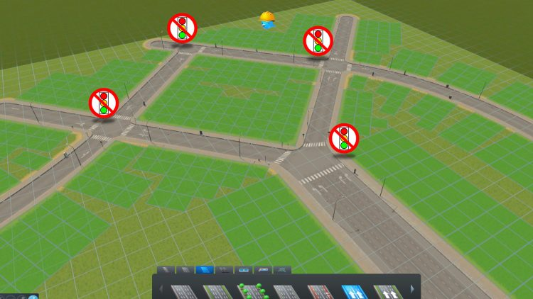 Verkehrslenkung ohne Ampeln