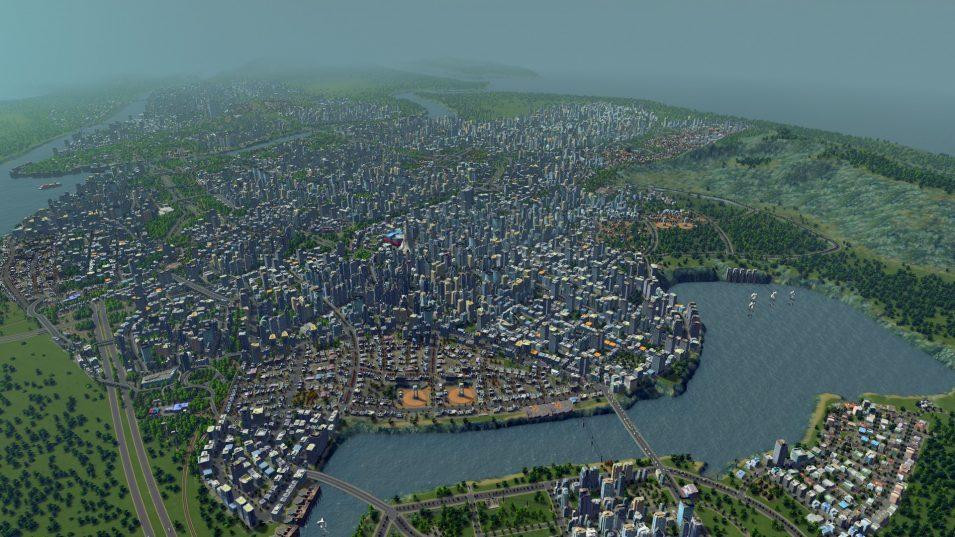 Cities Skylines: Eine Stadt mit über 200.000 Einwohnern