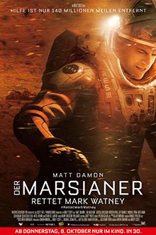 Kino! Der Marsianer – Rettet Mark Watney