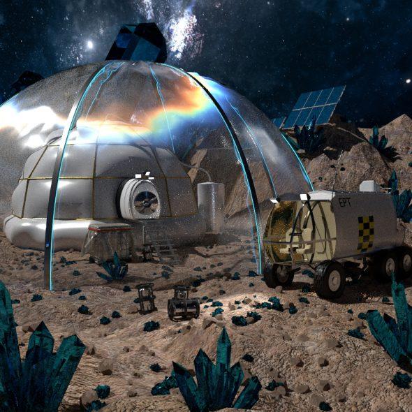 An der Space Base herumgewerkelt