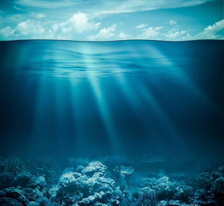 Ozean-Tiefen