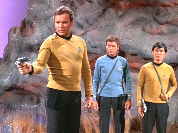 Kirk & Crew gut gestärkt mit dem Gericht No. 3