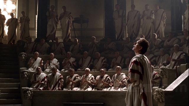 Cicero spricht im Senat