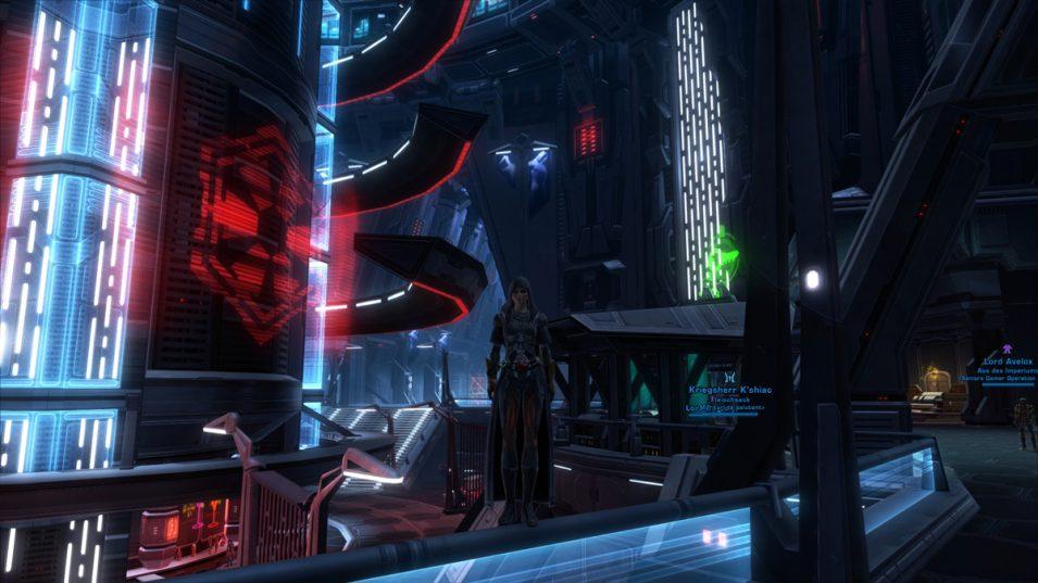 Der Mittelpunkt der Imperialen Flotte: Die Cantina