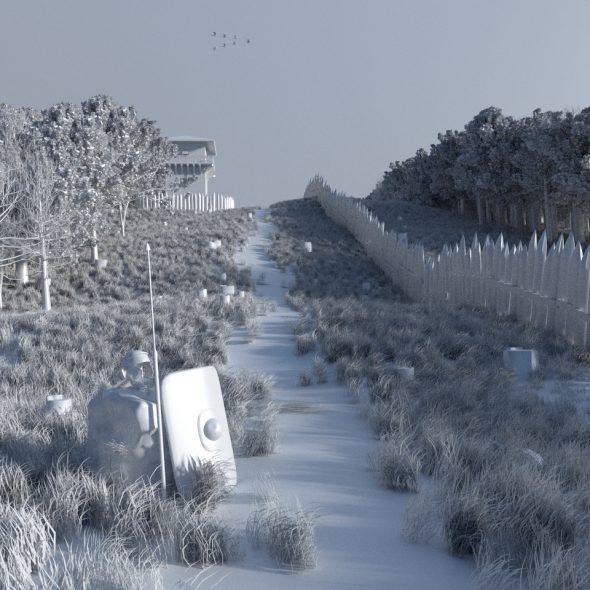 Blender reaktiviert: Clay-Rendering und Schneelandschaft