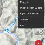 GPS-Bearbeitung mit Geo Tracker & Google Maps