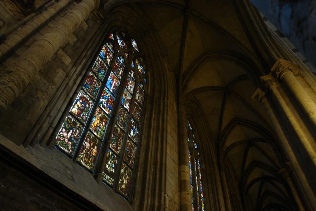 Gotische Fenster im Halberstädter Dom, sehr schön