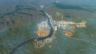 Heidelberg in Cities Skylines: Eigenes Terrain importieren