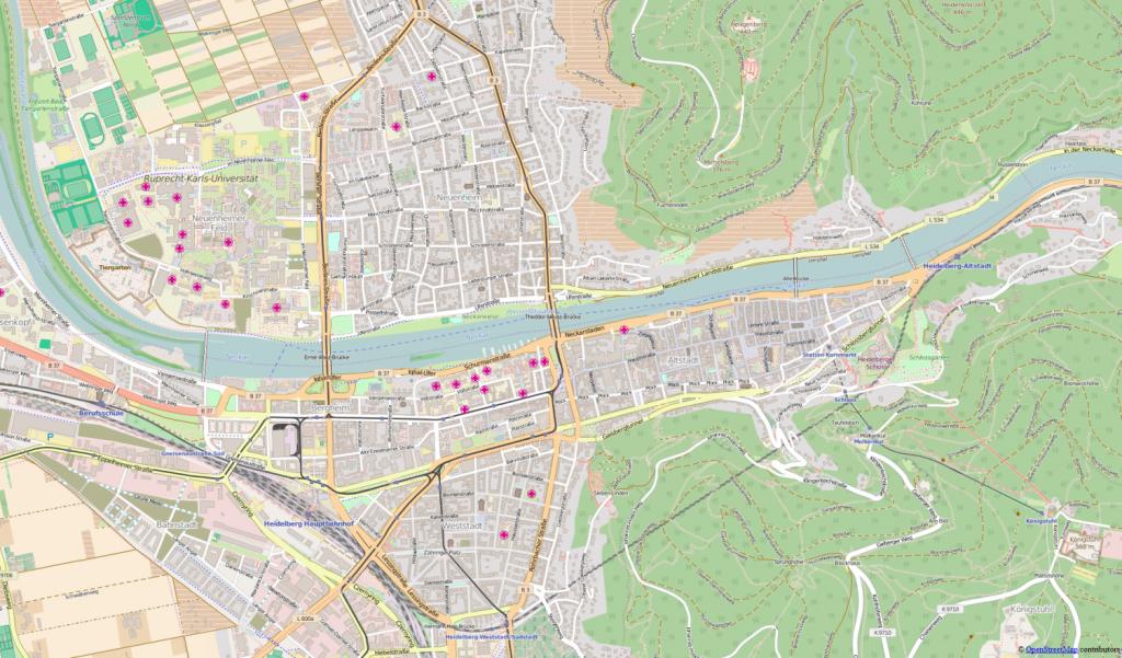 Heidelberg heute