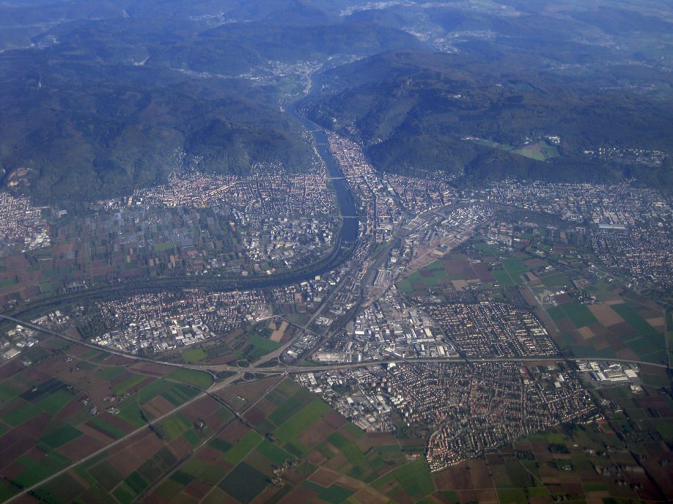Heidelberg Luftbild