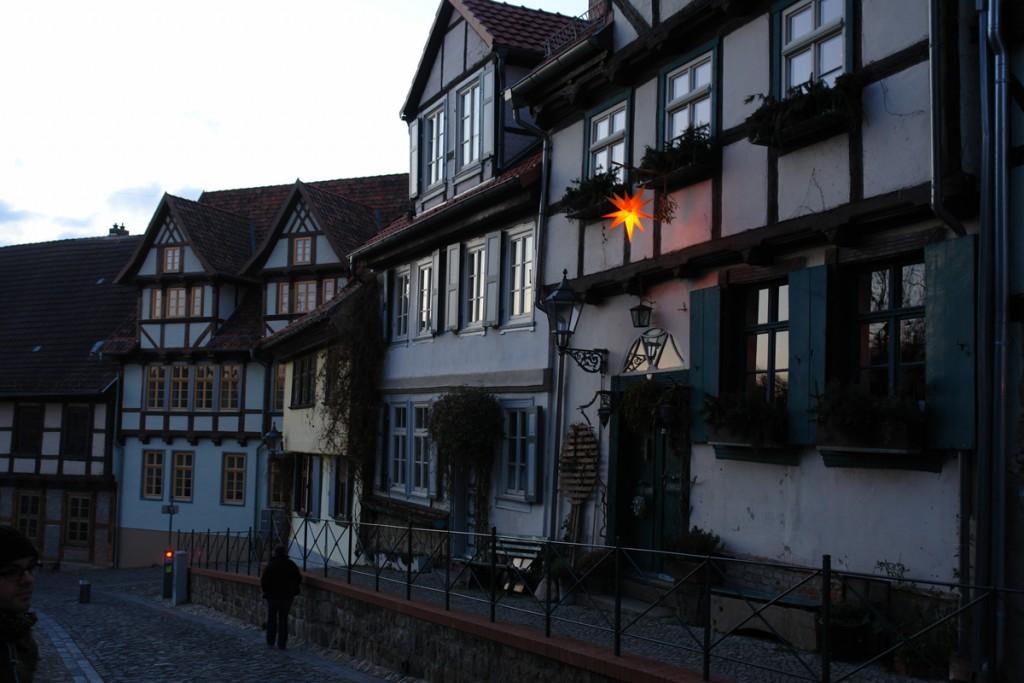 Dämmerung in Quedlinburg