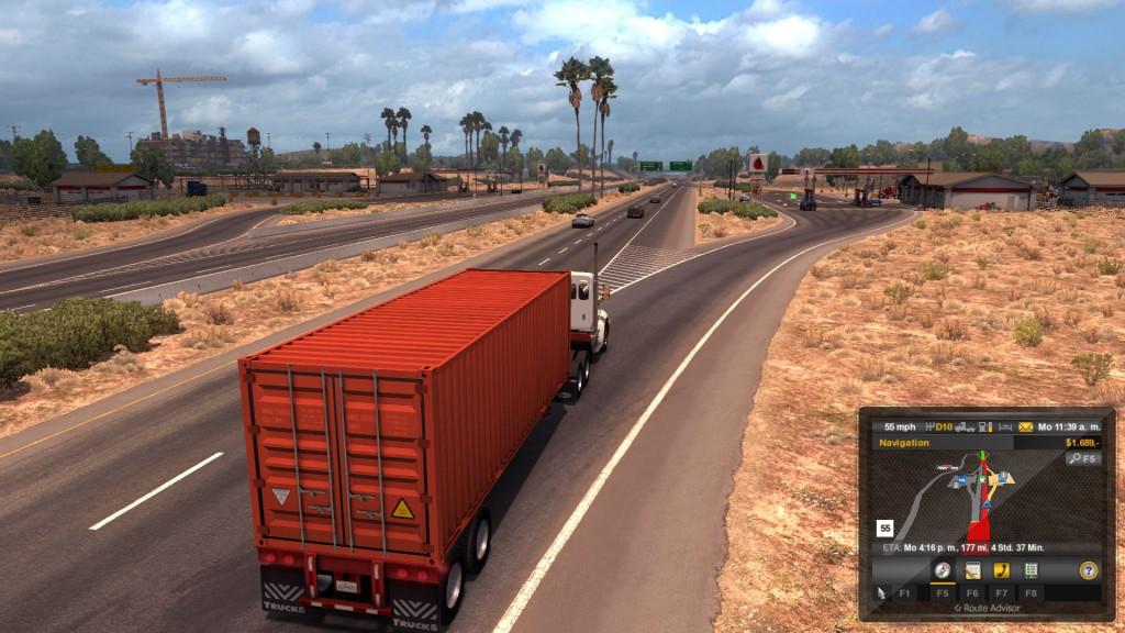 Auf dem Highway