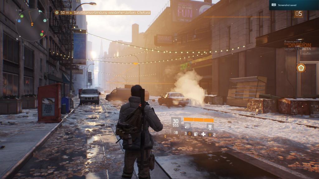 Die verschneiten, kontaminierten New Yorker Straßen