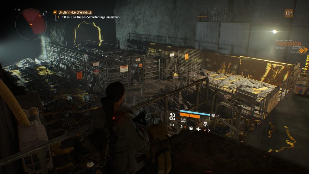 Eine U-Bahnstation als Leichenhalle