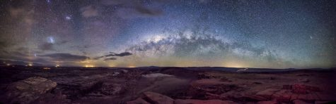 Blick nach oben: Die Milchstraße. Quelle