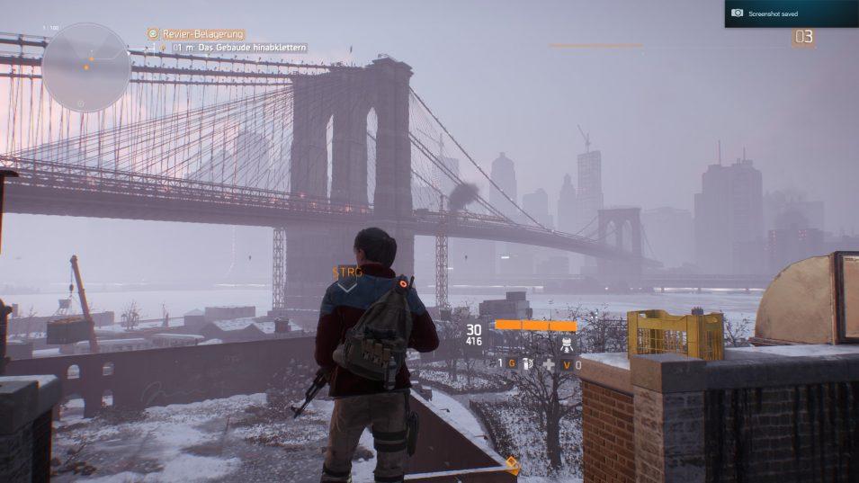 Die Brooklyn Bridge am Ende des äußerst gelungenen Tutorials