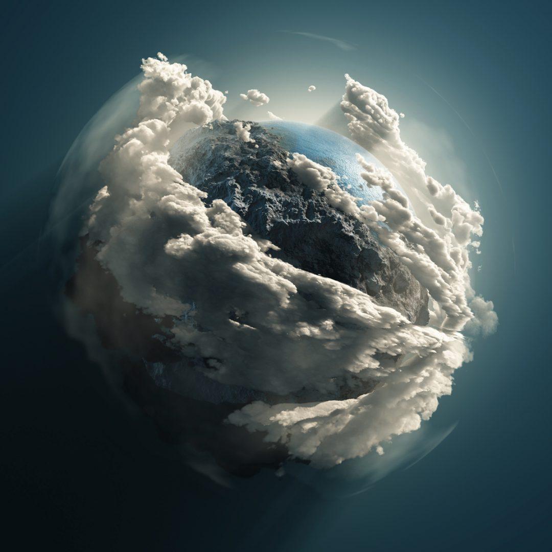 Nicht reelle Ansicht der Erde - aber wunderschön! Das komplette Bild ist frei zum Download: https://4-designer.com/2013/03/Green-World-polar-coordinates-14-HQ-Pictures/#.VvEtRtCoPuM