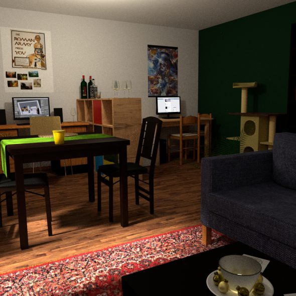 Blender und Innenarchitektur