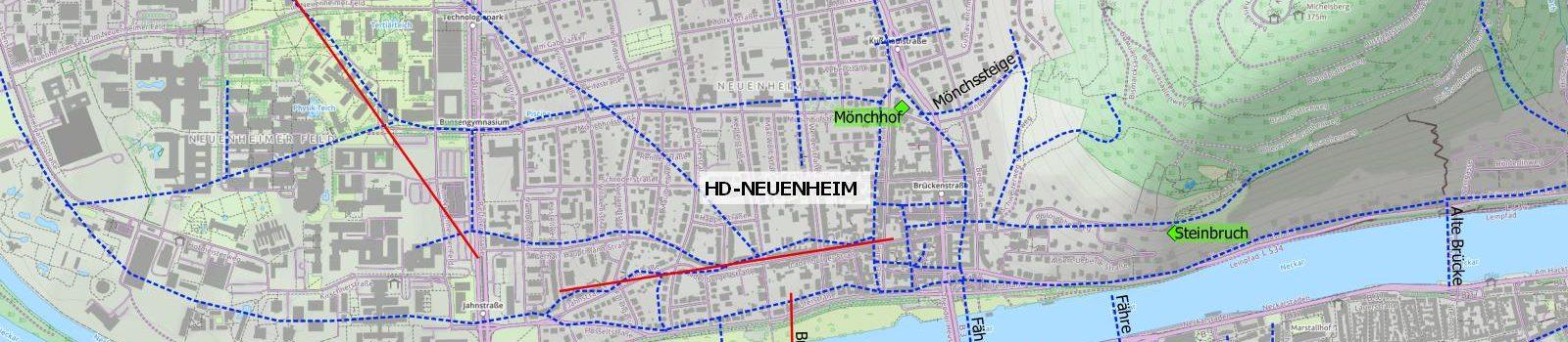 Fun with Maps (Teil 9) – Historische Karte auf modernem Stadtgrundriss