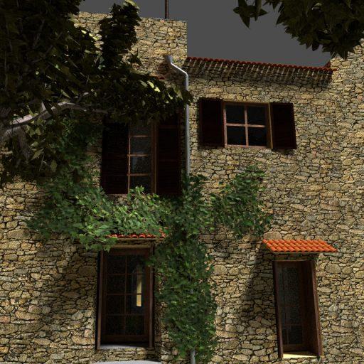 Landhaus Ligurien