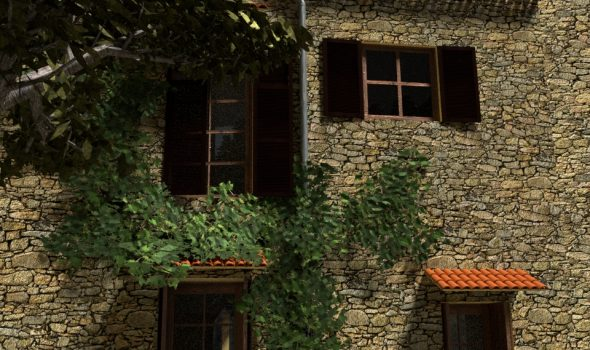 Hausbau in Blenderhausen schreitet fort