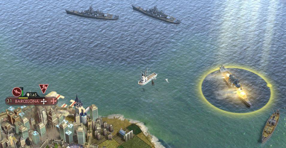 Ein Schlachtschiff in Aktion <3