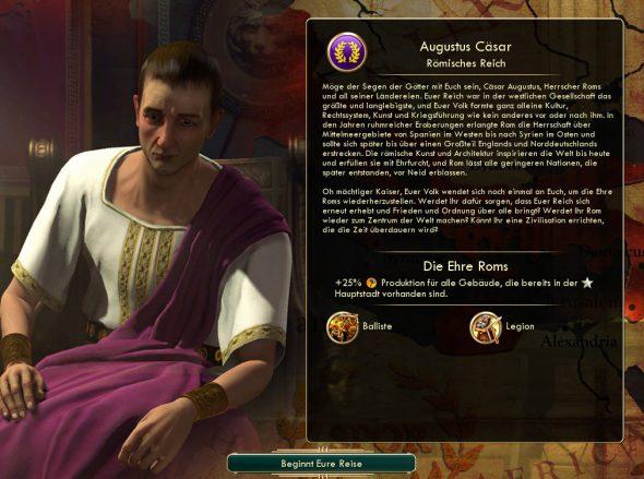 Civilization: Attila gegen Augustus im Stil von Cassius Dio :D