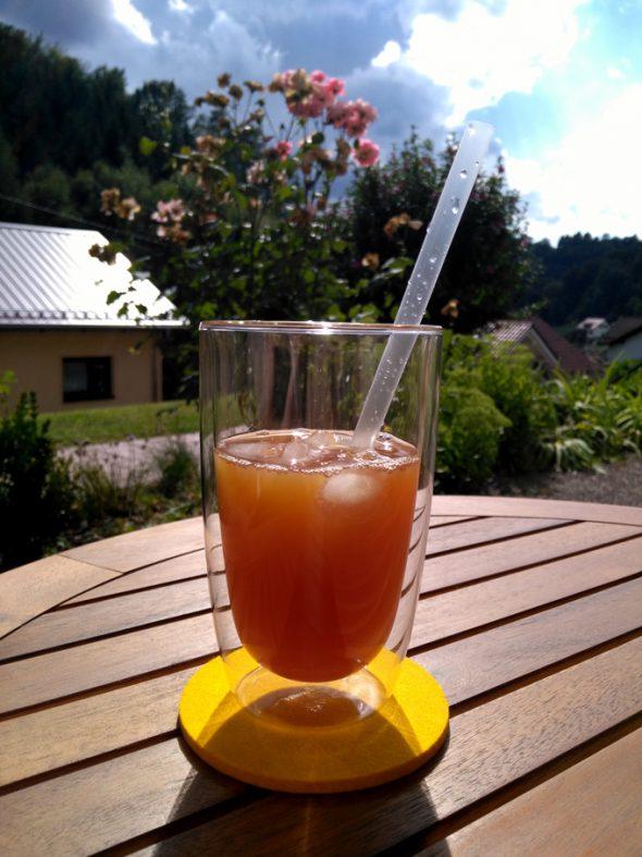 Eistee selber machen: Peach State Iced Tea