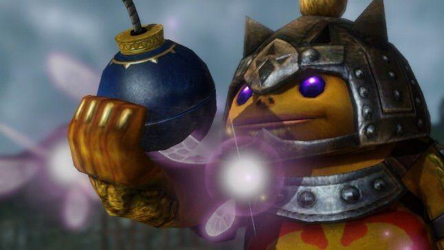 Gorone mit Bombe.. Muss wohl ein Artwork sein, sieht nicht nach Spielegrafik aus :D