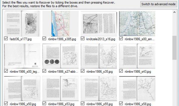 Letzte Hoffnung Datenwiederherstellung: Recuva