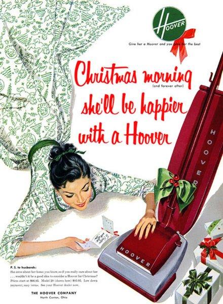 Ein Staubsauger! Das perfekte Weihnachtsgeschenk!
