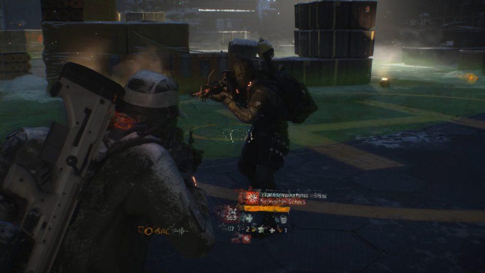 Ein Jäger in Survival, der kommt, sobald man den Heli ruft