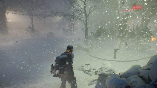 Tom Clancys The Division, Survival, Schneesturm