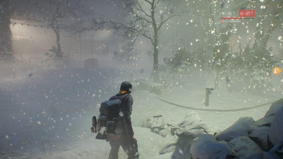 Schneeidylle in Survival