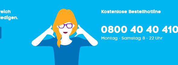 blau.de – Information und Service Fehlanzeige..