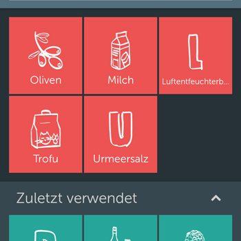 Einkaufsliste sharen mit der Android-App: Bring!