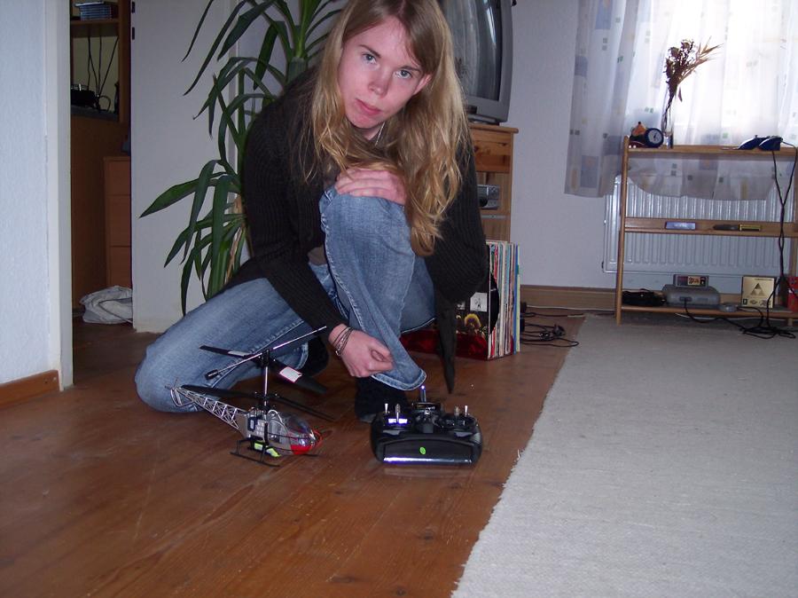 Mein kleiner Hubschrauber, Oktober 2006 (vor 10 Jahren..!)