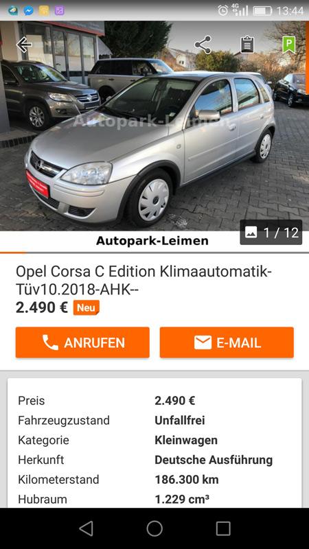 Auto angeschaut, Auto gekauft!