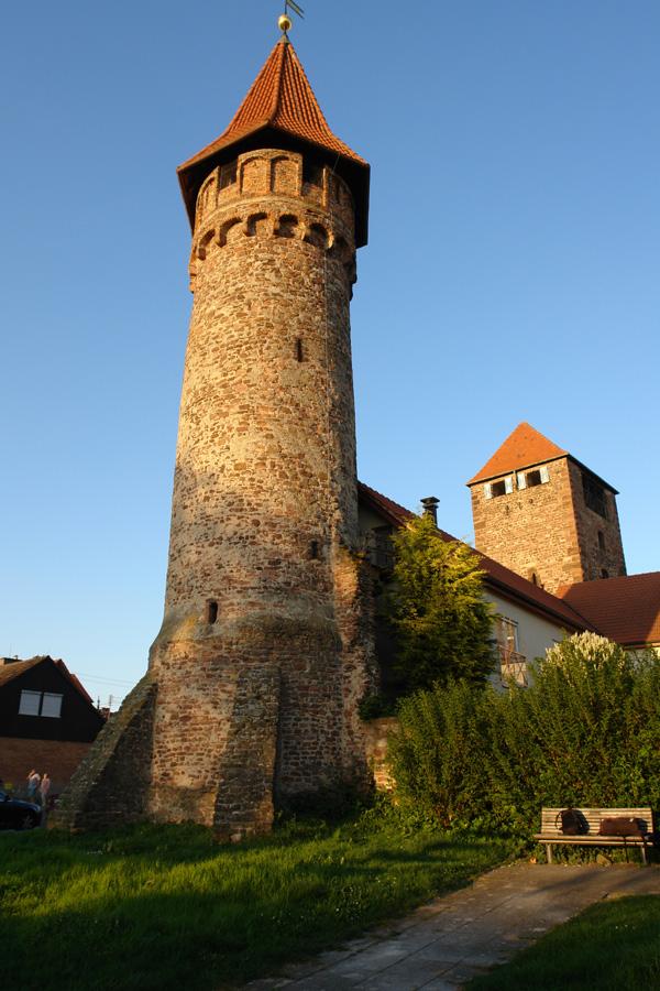 Hexenturm und Martinstor in Ladenburg