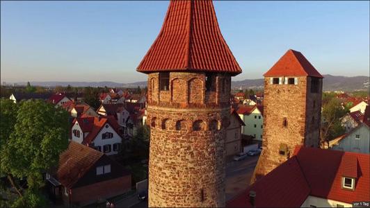Video: Sightseeing in Ladenburg mit der Drohne