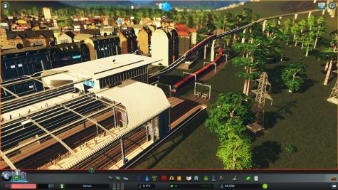 Mass Transit Monorail-Eisenbahn-U-Bahn-Knoten